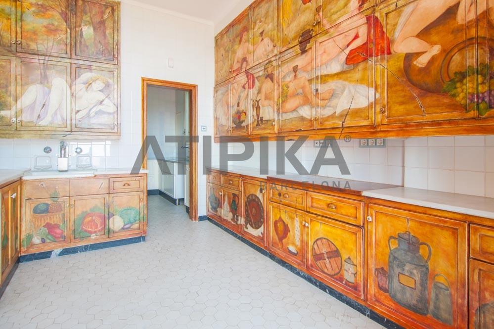 Espectacular palacete neoclásico en Sarrià 4