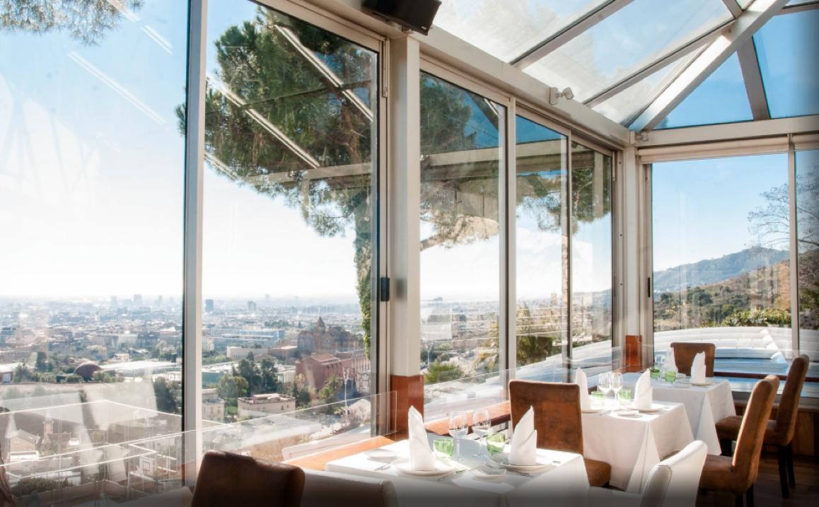Mirabé, un delicioso restaurante con las mejores vistas de Barcelona 1