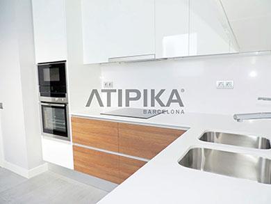 Cocina Obra Nueva Atipika Barcelona