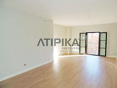 Salón Obra nueva Atipika Real Estate Barcelona