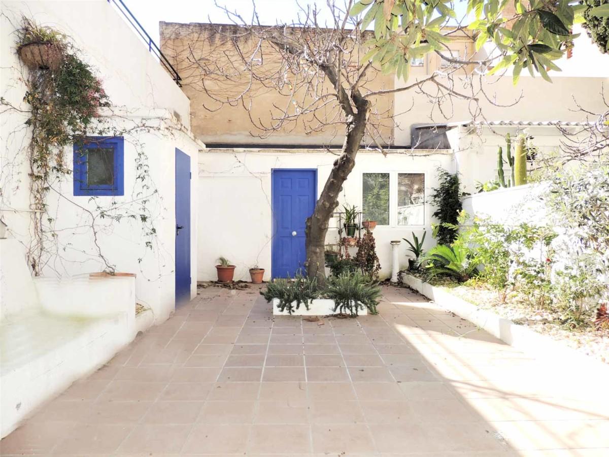 terraza privada con gran espacio polivalente