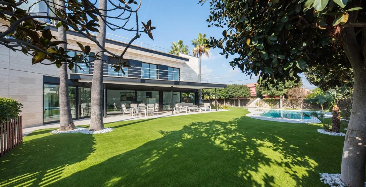 Casas con jardín o como vivir en plena naturaleza en tu propia casa 2