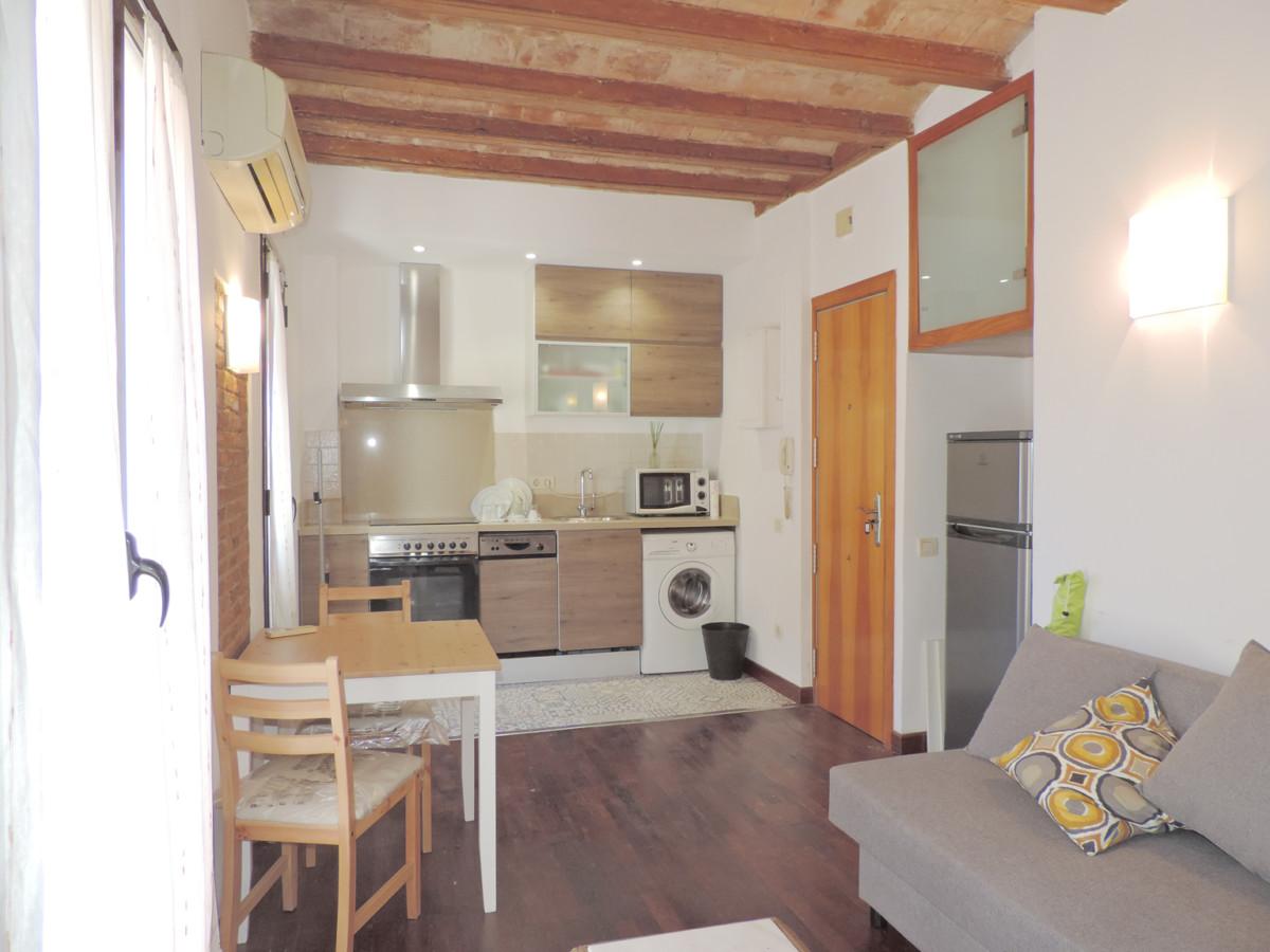 Acogedor apartamento muy luminoso de una habitación con inquilino junto a la playa de 'La Barceloneta' 3